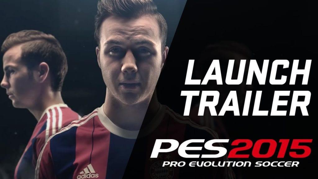 PES 2015 launch trailer makes Mario Gotze talk about balls