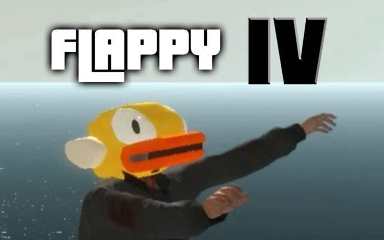 Play the GTA IV Flappy Bird Mod today – Face plants guaranteed