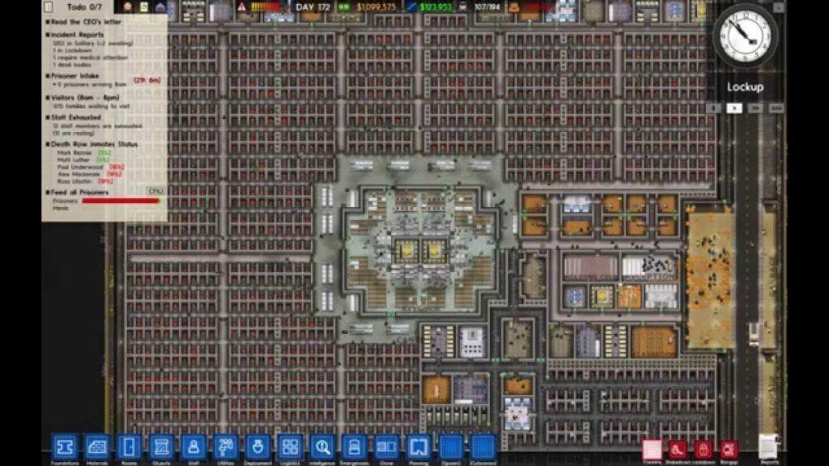 Prison Architect Alpha 32 Launches Full Game Due Q4 Pc