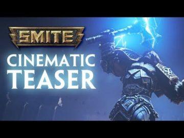 Smite launches alongside cinematic teaser trailer