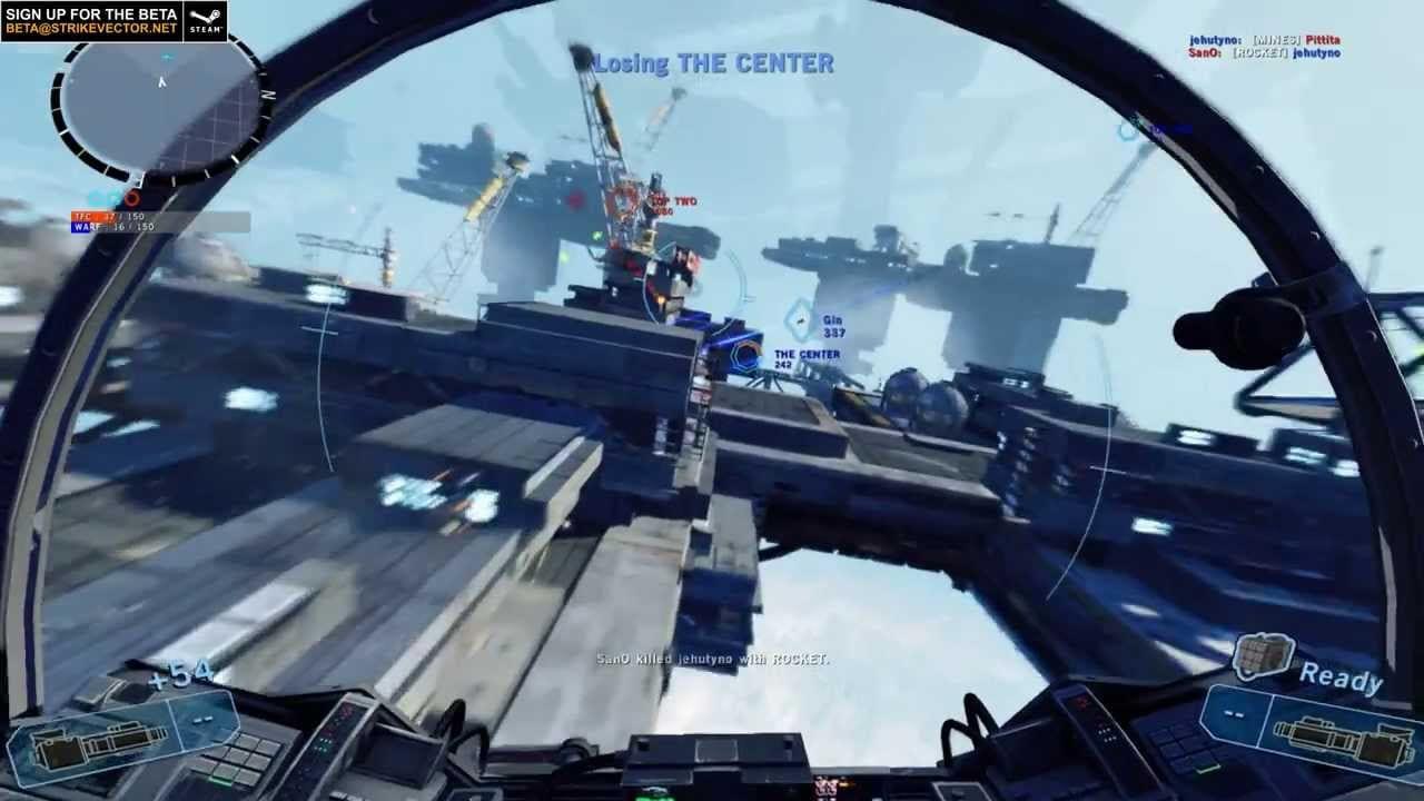 Strike Vector gets impressive beta trailer