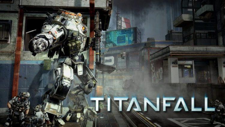 Titanfall shows the Atlas Titan