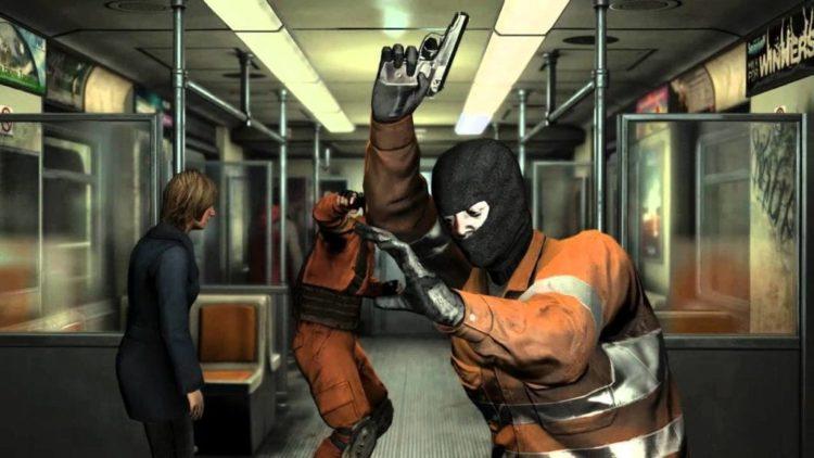 Tom Clancy's Sam Fisher beats all the Tom Clancy terrorists in Tom Clancy's Splinter Cell: Blacklist