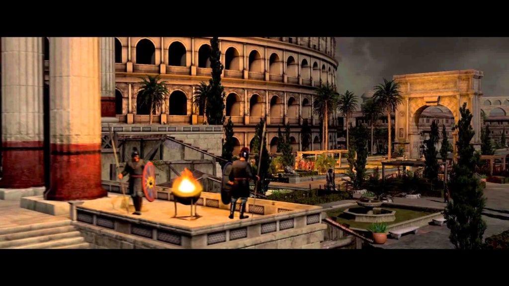 Total War: Attila trailer, like Goldfrapp, rides a white horse