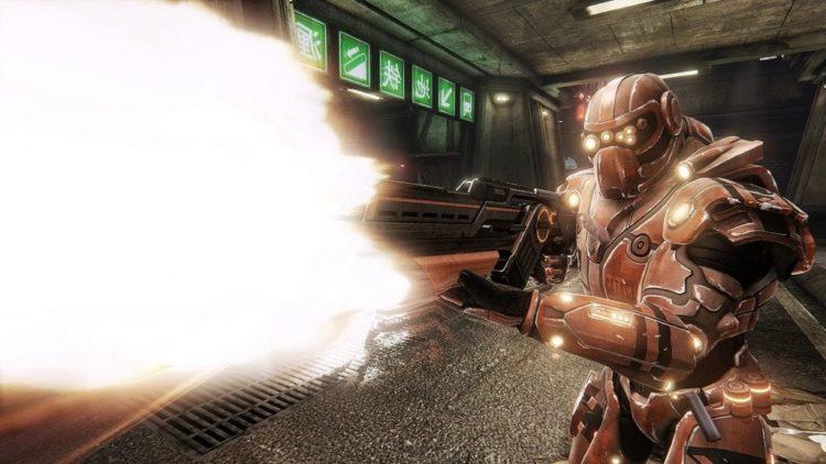 TOXIKK gameplay trailer demos classic speedy FPS style with no bullshit