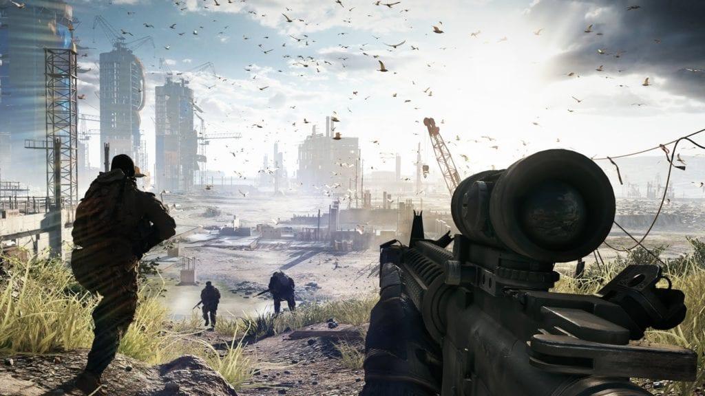 Watch 17 Minutes of Battlefield 4 gameplay
