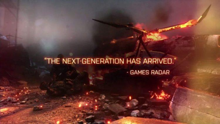 Watch the explosive Battlefield 4 Accolades TV trailer