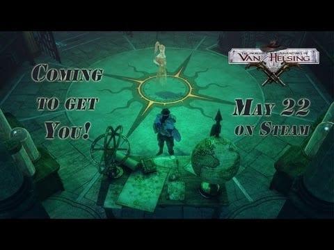 Watch the The Incredible Adventures of Van Helsing TD mini-game