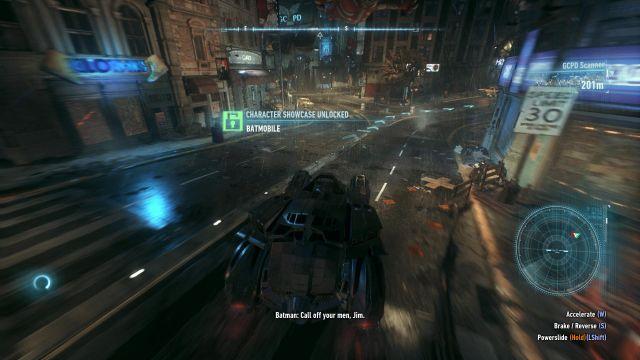 Batman Arkham Knight - motion blur