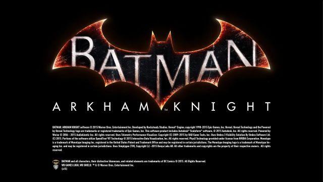 Batman Arkham Knight - splash 1