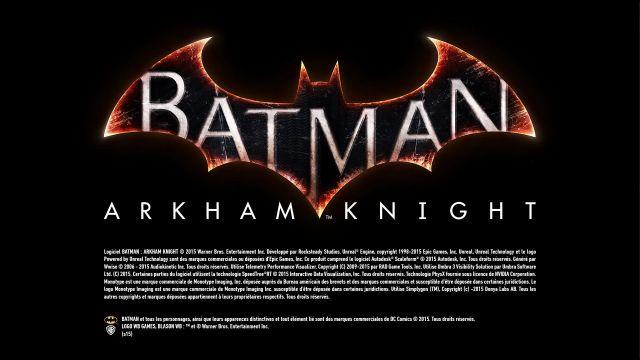 Batman Arkham Knight - splash 2