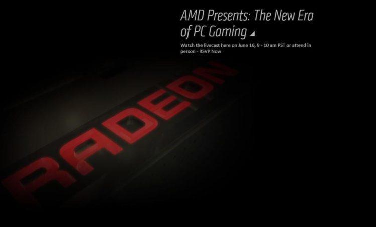 "AMD Radeon GPU reveal at E3 promises ""new era in PC gaming"""