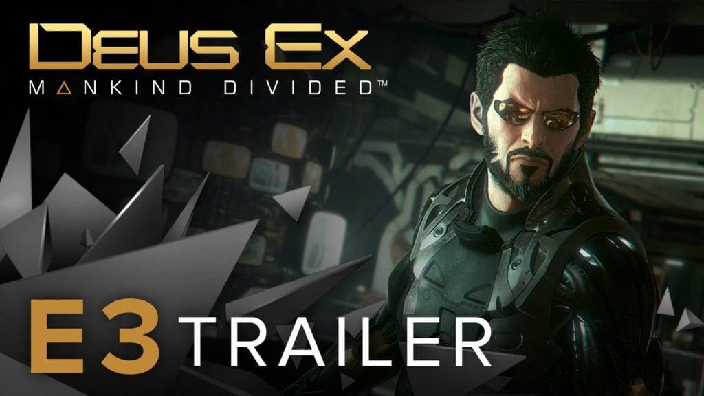 Deus Ex: Mankind Divided gets details, gameplay trailer