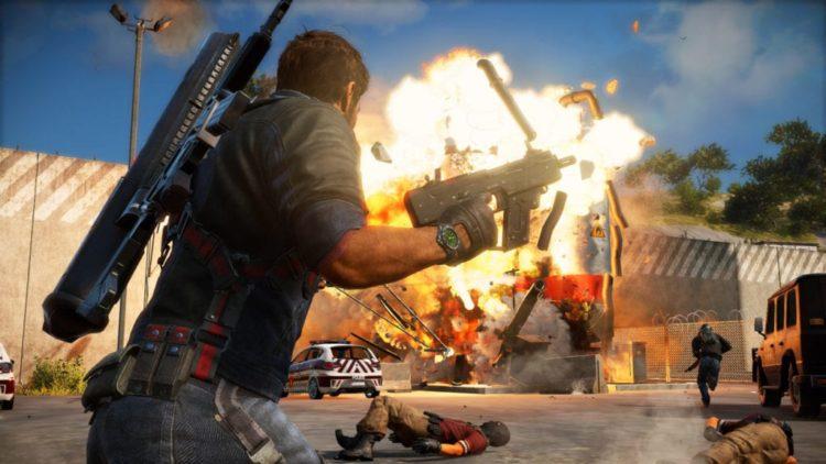Just Cause 3 Gamescom trailer lights a fire under Rico