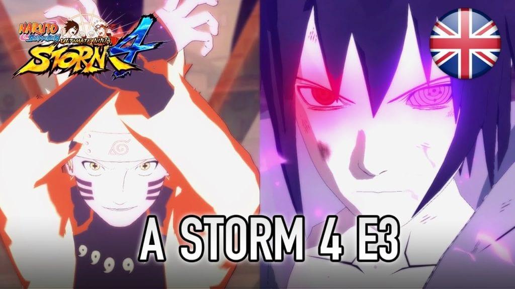 Naruto Shippuden: Ultimate Ninja Storm 4 gameplay trailer