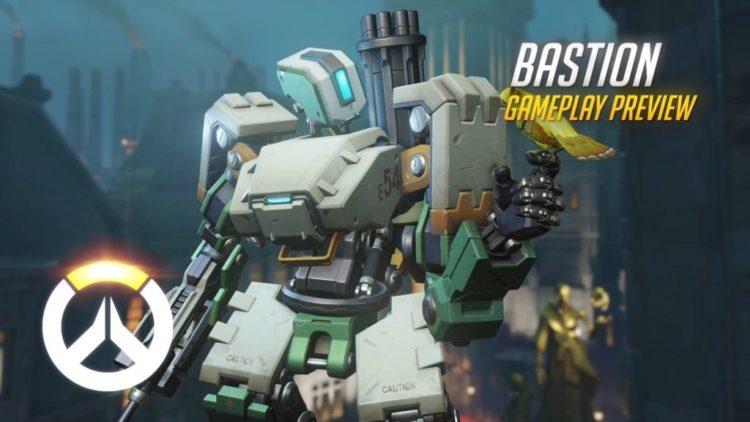 Overwatch Bastion gameplay video