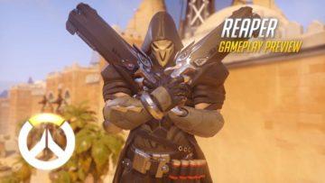 Overwatch Reaper gameplay video