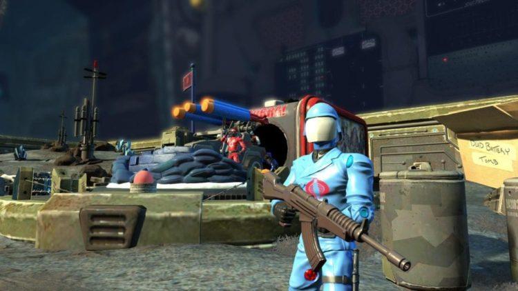 Cobra Commander and Ezio enter Toy Soldiers: War Chest