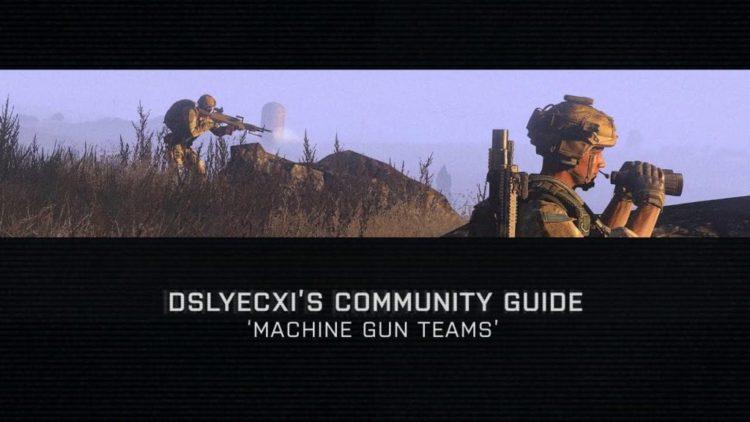 Arma 3 video shows off machine gun teams