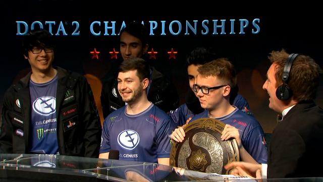 dota 2 ti5 champions