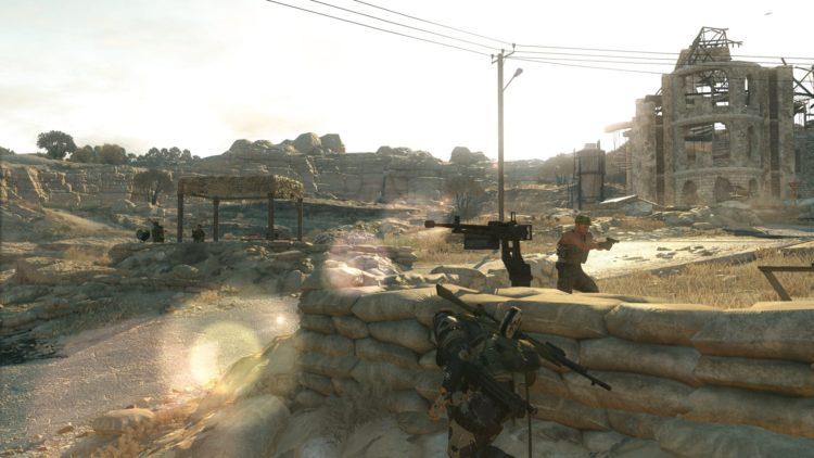 Metal Gear Solid V comparison shots show PC benefits