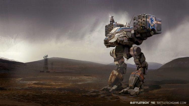 Battletech Kickstarter stomps past funding goal on first day