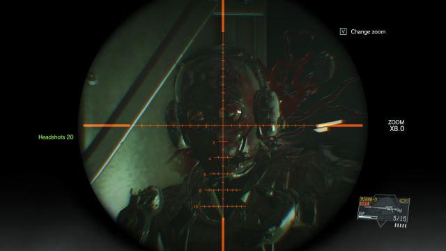 MGS5 - Headshot