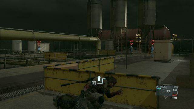 MGS5 - Sneaking