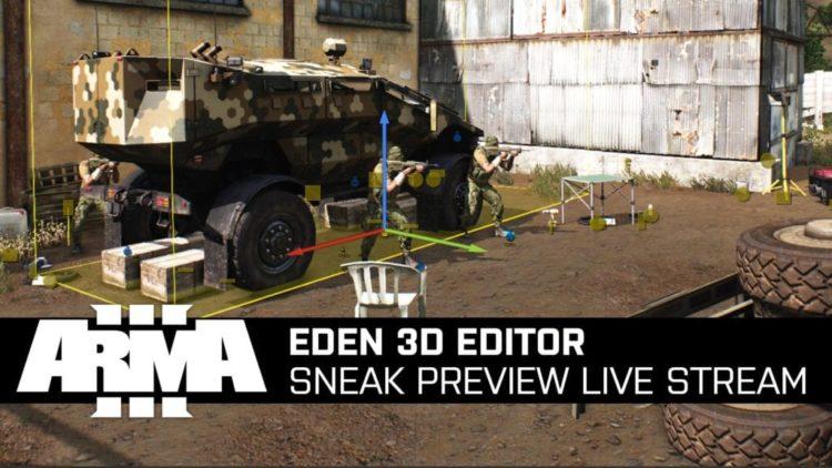 Arma 3's Eden 3D editor now in public beta
