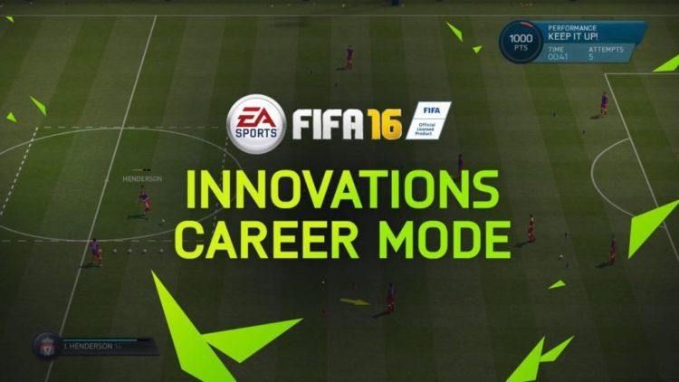 FIFA 16 Career Mode Innovations video