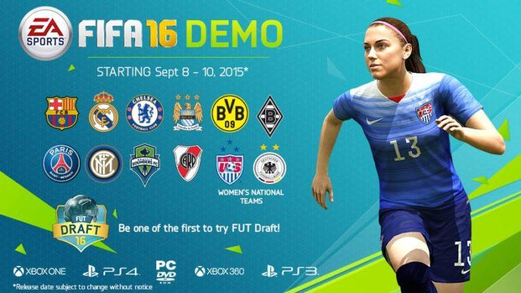 FIFA 16 demo released