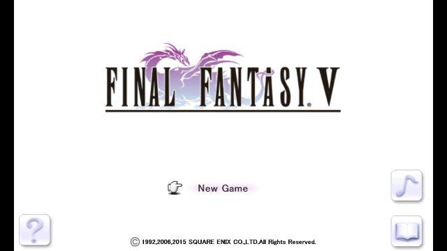 final fantasy v - 1