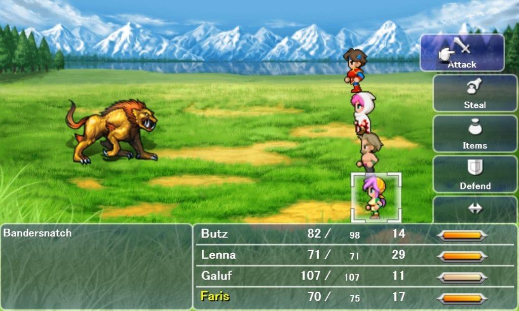 Final Fantasy V PC Version Impressions | PC Invasion