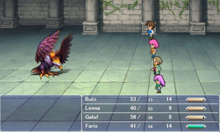 Final Fantasy V PC Version Impressions