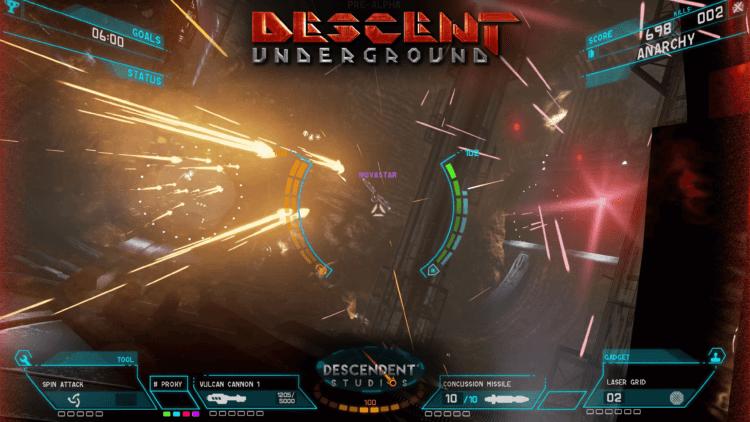 PC Invasion Plays Descent Underground