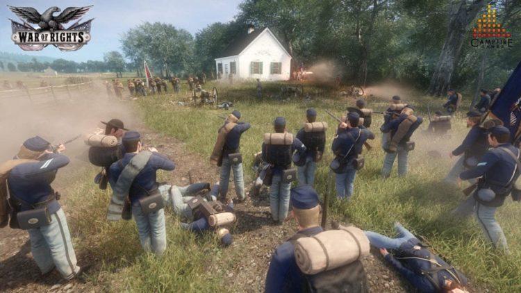 War of Rights Civil War FPS Kickstarter almost funded