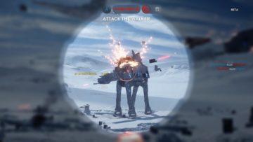 Star Wars Battlefront - ATAT downed