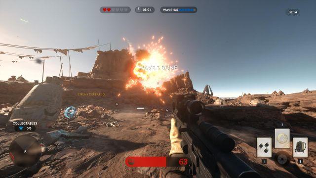 Star Wars Battlefront - Tatooine High
