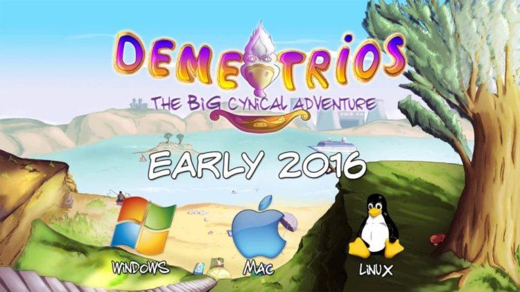 Demetrios adventure game announced