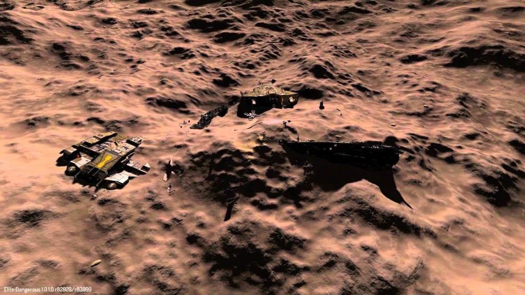 Elite Dangerous: Horizons planet reveal clip looks impressive
