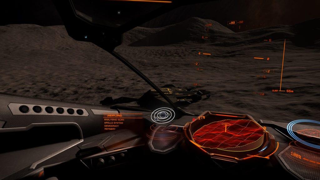 elite: dangerous landings