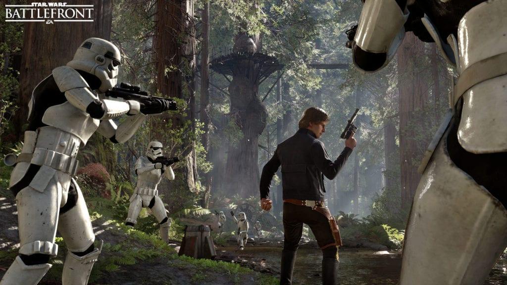 star wars: battlefront han solo