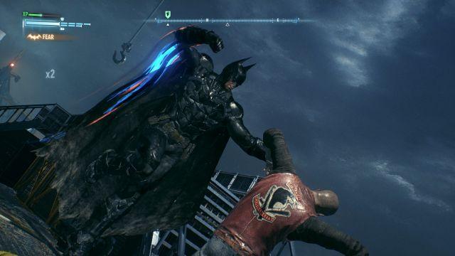 Arkham Knight - Face punching