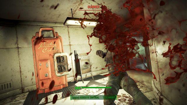 Fallout 4 - VATS gore