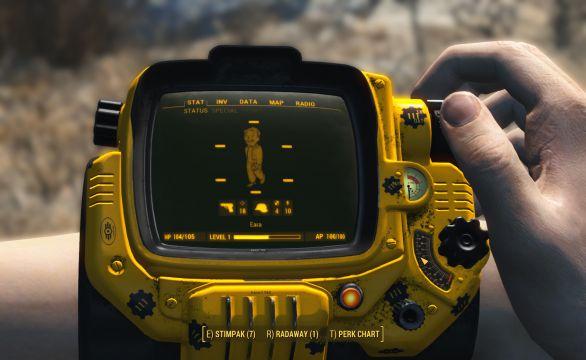 Fallout 4 Vault 111 Pipboy