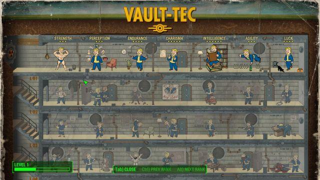 Fallout 4 - perks