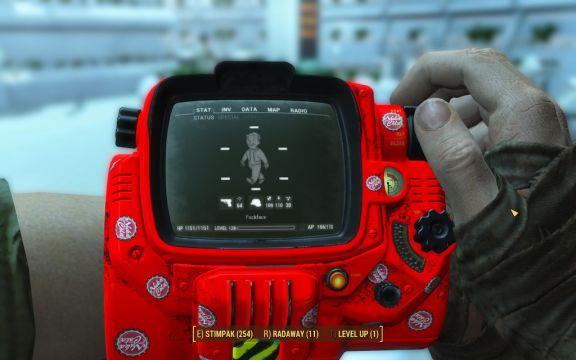 Fallout 4 pipboy nuke