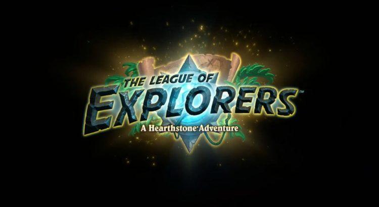 Hearthstone League of Explorers adventure launches 13 November