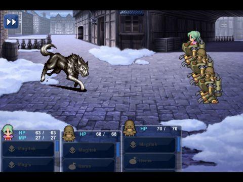 Final Fantasy 6 - battle 1
