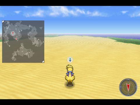 Final Fantasy 6 - mode 7 emulation
